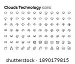 clouds technology. high quality ...