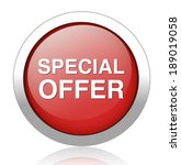 special offer icon  | Shutterstock . vector #189019058
