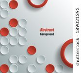 abstract background with white... | Shutterstock .eps vector #189021392