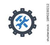 technical support related glyph ... | Shutterstock . vector #1890230212