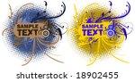 retro elements for design.   Shutterstock .eps vector #18902455