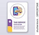 taxi service brochure template. ...