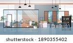 empty coworking center modern... | Shutterstock .eps vector #1890355402