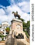 Statue Of Bruno Mauricio De...