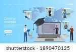 online education  e learning ...   Shutterstock .eps vector #1890470125