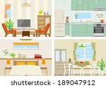 illustration of room | Shutterstock .eps vector #189047912