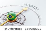 brazil high resolution vote...   Shutterstock . vector #189050372