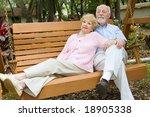 Senior Couple Taking Time To...