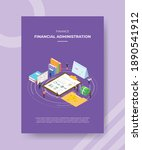 financial administration... | Shutterstock .eps vector #1890541912