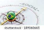 brazil high resolution social...   Shutterstock . vector #189060665