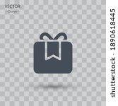 giftbox icon. vector...