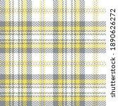 tartan plaid pattern in grey ... | Shutterstock .eps vector #1890626272