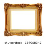 Antique Of Gold Photo Frame...