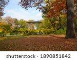 Beautiful Gazebo In Autumn...