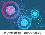 big data visualization... | Shutterstock . vector #1890872698