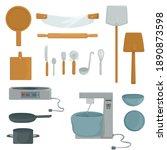 Set Of Kitchen Utensils....