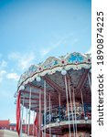 A Large Children's Carousel On...