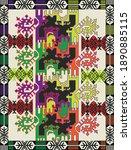 turkhis pattern traditional... | Shutterstock .eps vector #1890885115