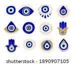 Evil Eye Or Turkish Eye Symbols ...