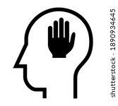 inside of human head. five...