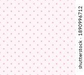 seamless pink polka dot...   Shutterstock .eps vector #1890996712