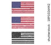 illustration set of american... | Shutterstock .eps vector #1891026442
