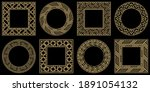 baroque style patterns.... | Shutterstock .eps vector #1891054132