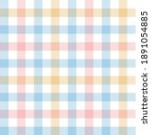 Gingham Pattern. Multicolored...