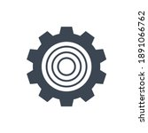 gear related glyph icon....   Shutterstock . vector #1891066762