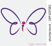 Cut Out Butterfly Card With...