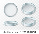 petri dish. realistic 3d empty... | Shutterstock .eps vector #1891131868