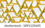 orange and grey glossy... | Shutterstock .eps vector #1891135645