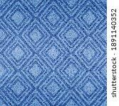 indigo seamless pattern....   Shutterstock .eps vector #1891140352