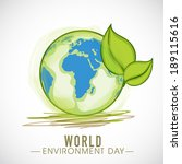 go green  illustration of... | Shutterstock .eps vector #189115616