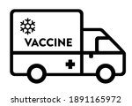 vaccine transportation and... | Shutterstock .eps vector #1891165972