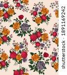 Allover Pattern  Floral Print...