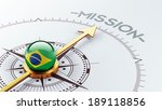brazil high resolution mission... | Shutterstock . vector #189118856