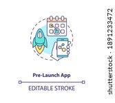 Pre Launch App Concept Icon....