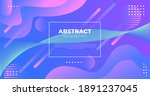 colorful geometric background.... | Shutterstock .eps vector #1891237045