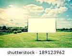 beautiful countryside landscape ... | Shutterstock . vector #189123962