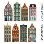 authentic european historical... | Shutterstock .eps vector #1891254538