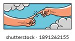 creation of adam cartoon style... | Shutterstock .eps vector #1891262155