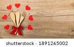 Wooden Kitchen Utensils With...