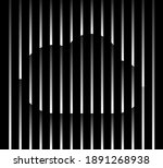 abstract unusual cloud sign... | Shutterstock .eps vector #1891268938