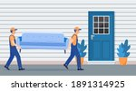 delivery and relocation service ...   Shutterstock .eps vector #1891314925