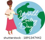 World Poetry Day . A Man With A ...