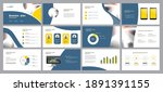 business presentation... | Shutterstock .eps vector #1891391155