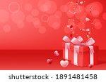 happy valentine's day...   Shutterstock .eps vector #1891481458