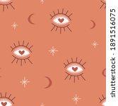 magic seeing eye vector... | Shutterstock .eps vector #1891516075