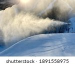 Snowmaking In Progress At Stowe ...